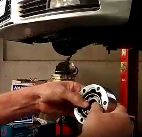 Um engano na montagem pode quebrar a junta deslizante