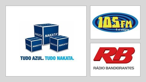 HG Nakata na rádio Bandeirantes e 105FM