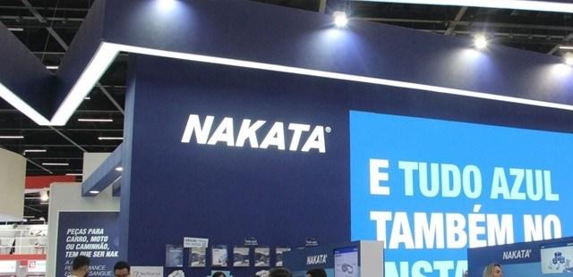Nakata levou para a Automec novidades para veículos leves, pesados e motocicletas e um clima vibrante para apresentar tudo isso.