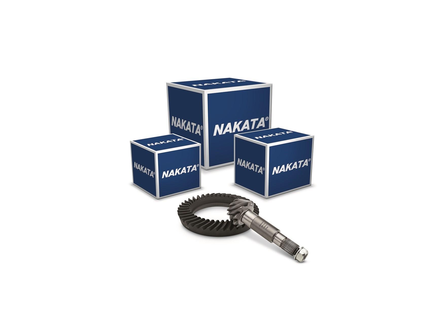 Nakata lança conjuntos de coroa e pinhão para 8 modelos de eixos diferenciais para comercias leves e caminhões