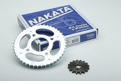 Nakata lança kit coroa e pinhão para motocicleta