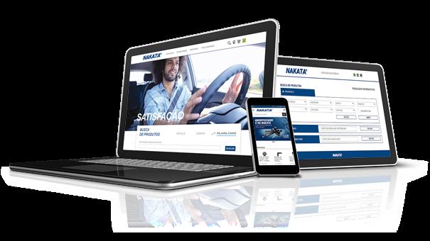 Nakata apresenta novo site, catálogo eletrônico, blog e aplicativo para entregar o melhor conteúdo ao profissional da cadeia