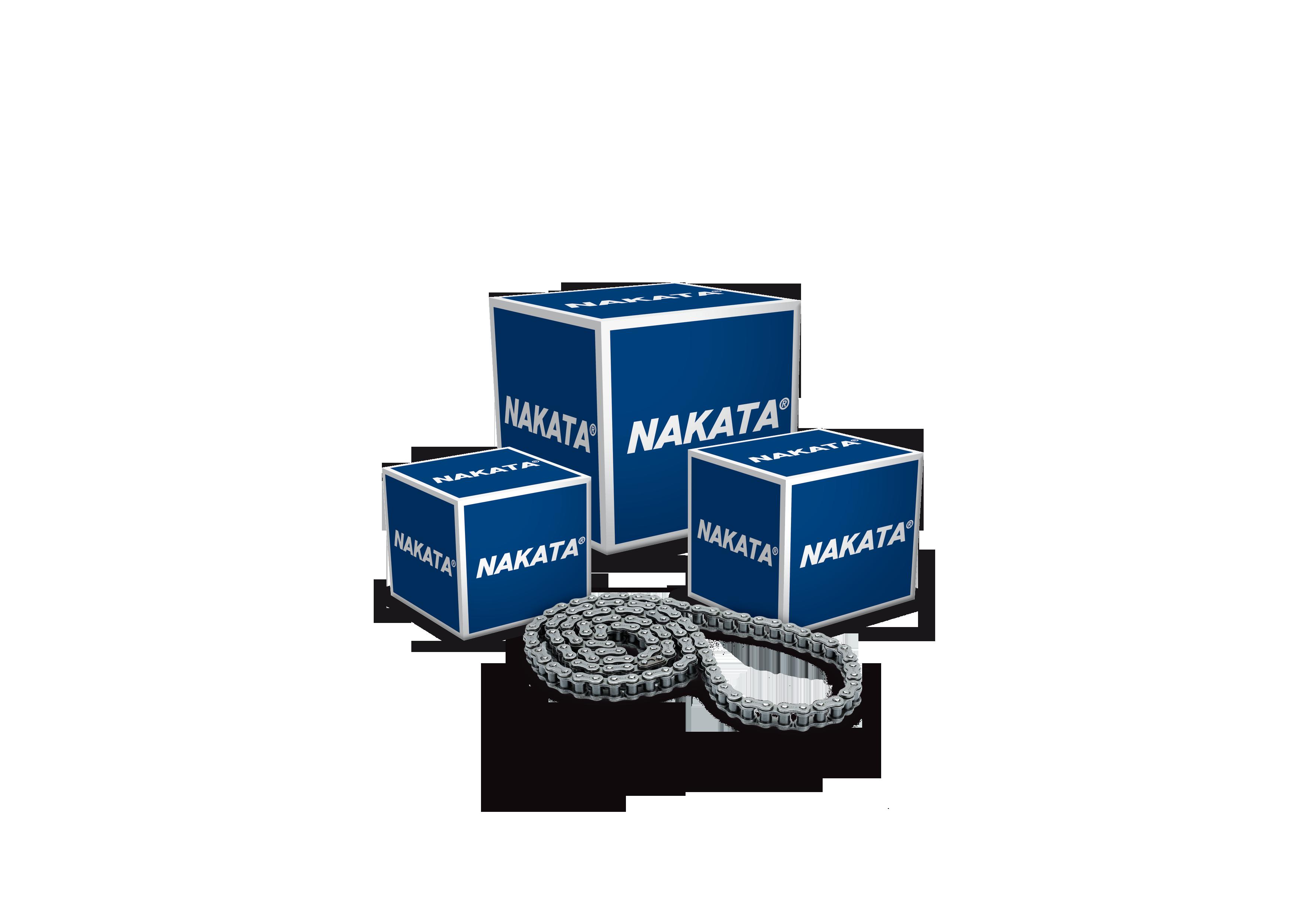 Nakata lança correntes para motocicletas