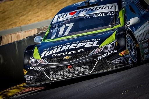 Guilherme Salas, piloto patrocinado pela Nakata, conquista pontos em na etapa de Londrina da Stock Car