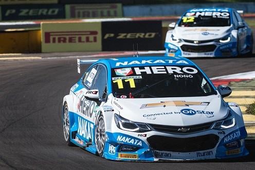 Nonô Figueiredo, piloto patrocinado pela Nakata, vence quinta etapa do Campeonato Brasileiro de Marcas e lidera a competição