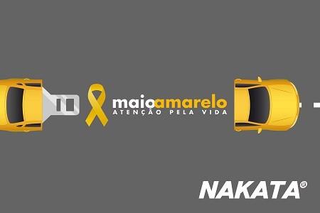 Nakata alerta para os cuidados na suspensão no Mês Maio Amarelo