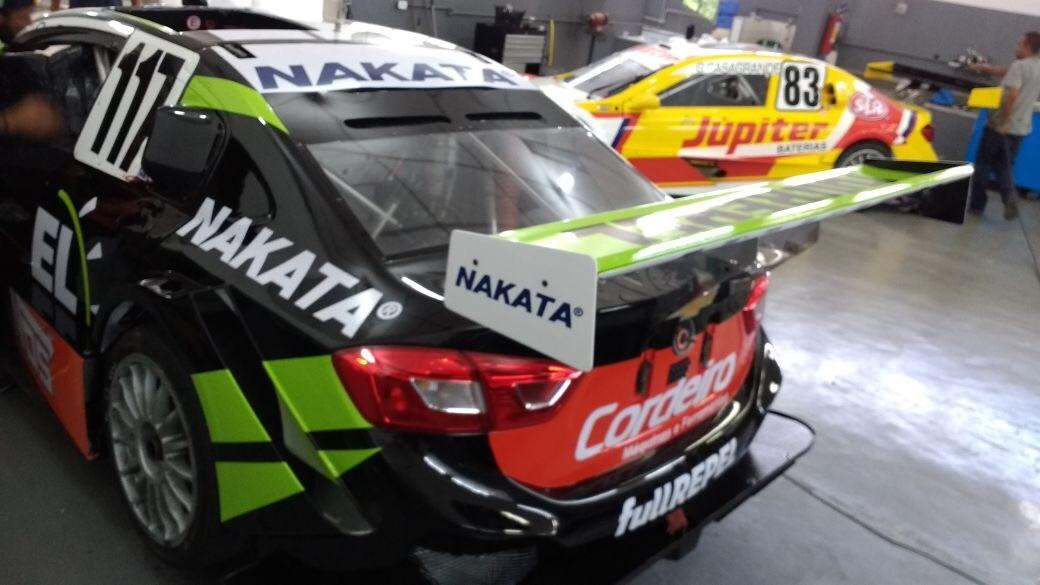 Guilherme Salas, piloto patrocinado pela Nakata, disputa Stock Car, em Curvelo/MG