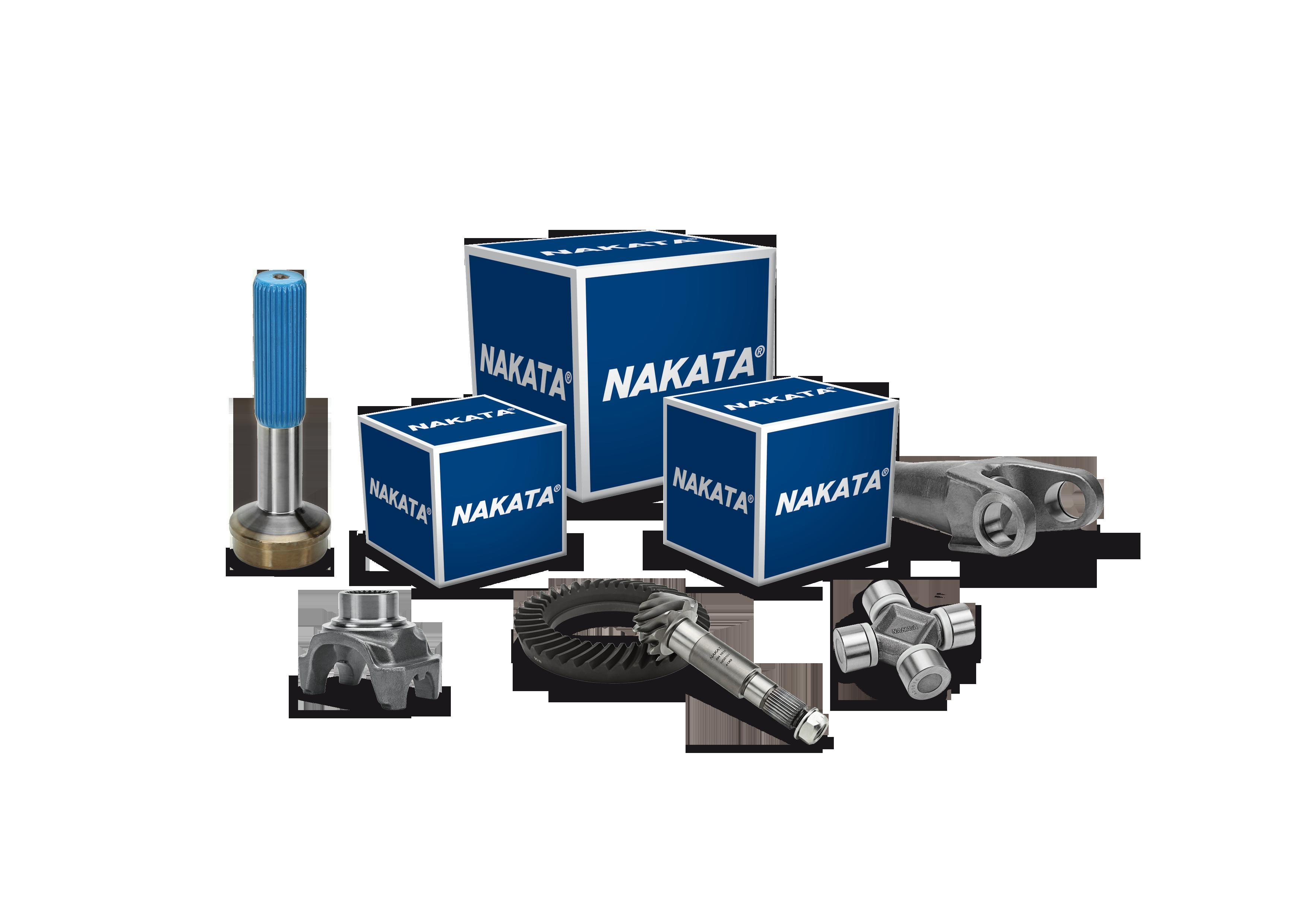 Nakata amplia atuação no segmento de pesados com as novas linhas de componentes de cardan e diferencial