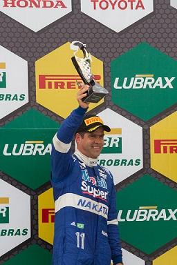 Com segundo lugar no pódio, Nonô Figueiredo, segue liderando Campeonato Brasileiro de Marcas