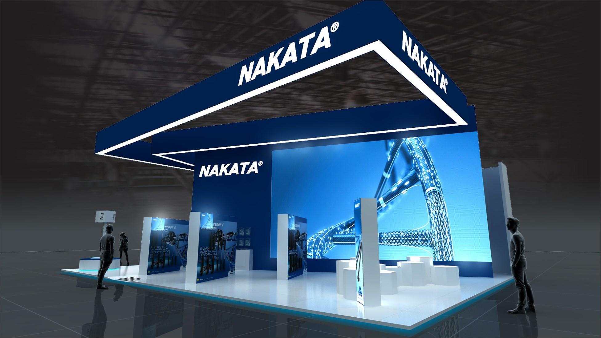 Azul Nakata ganha destaque no estande da Automec 2017