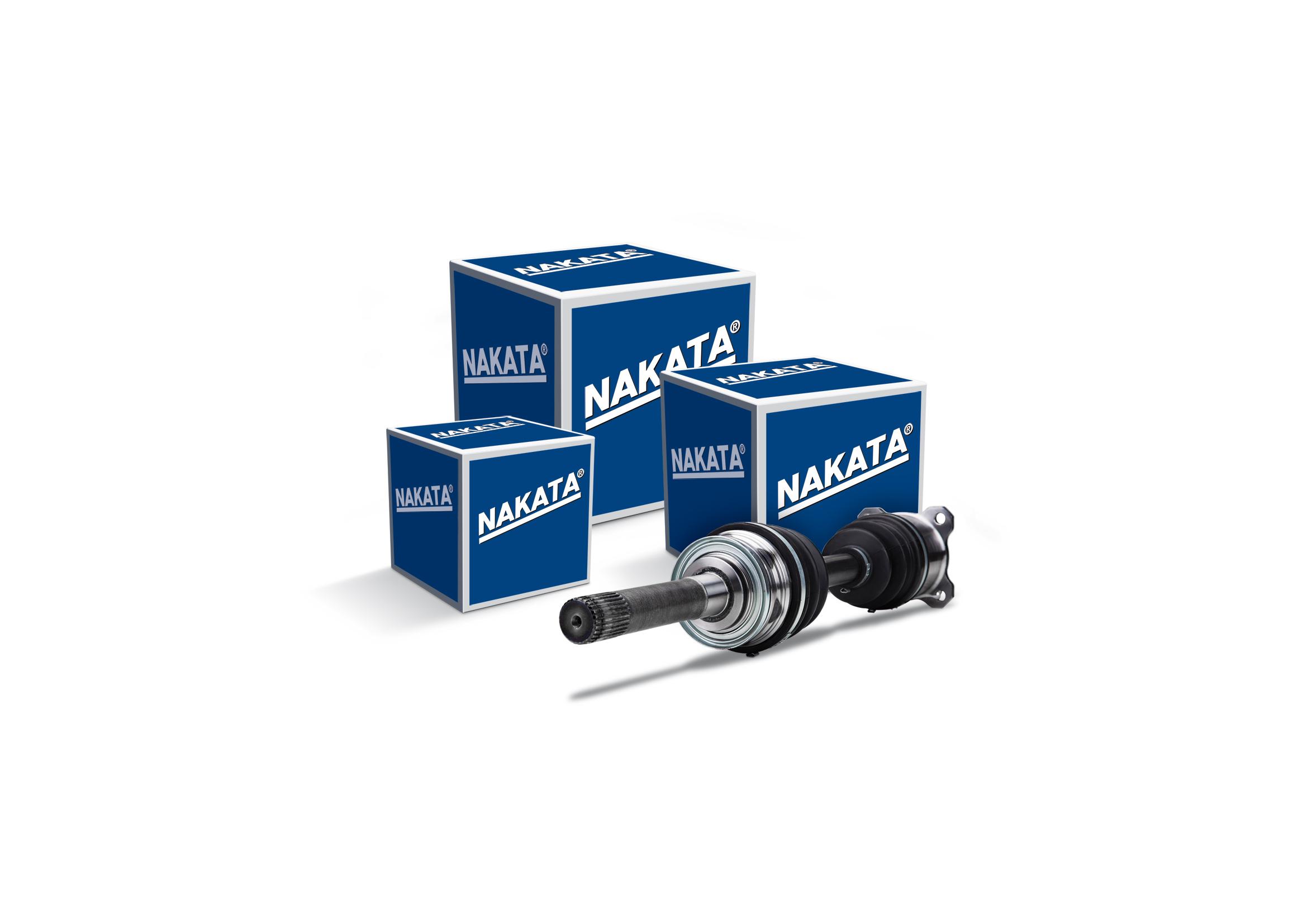 Nakata lança semieixos para comerciais leves e utilitários