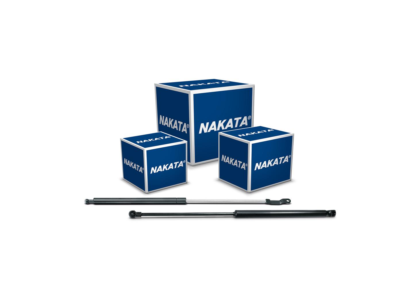 Nakata lança amortecedores mola a gás para 18 veículos de várias marcas