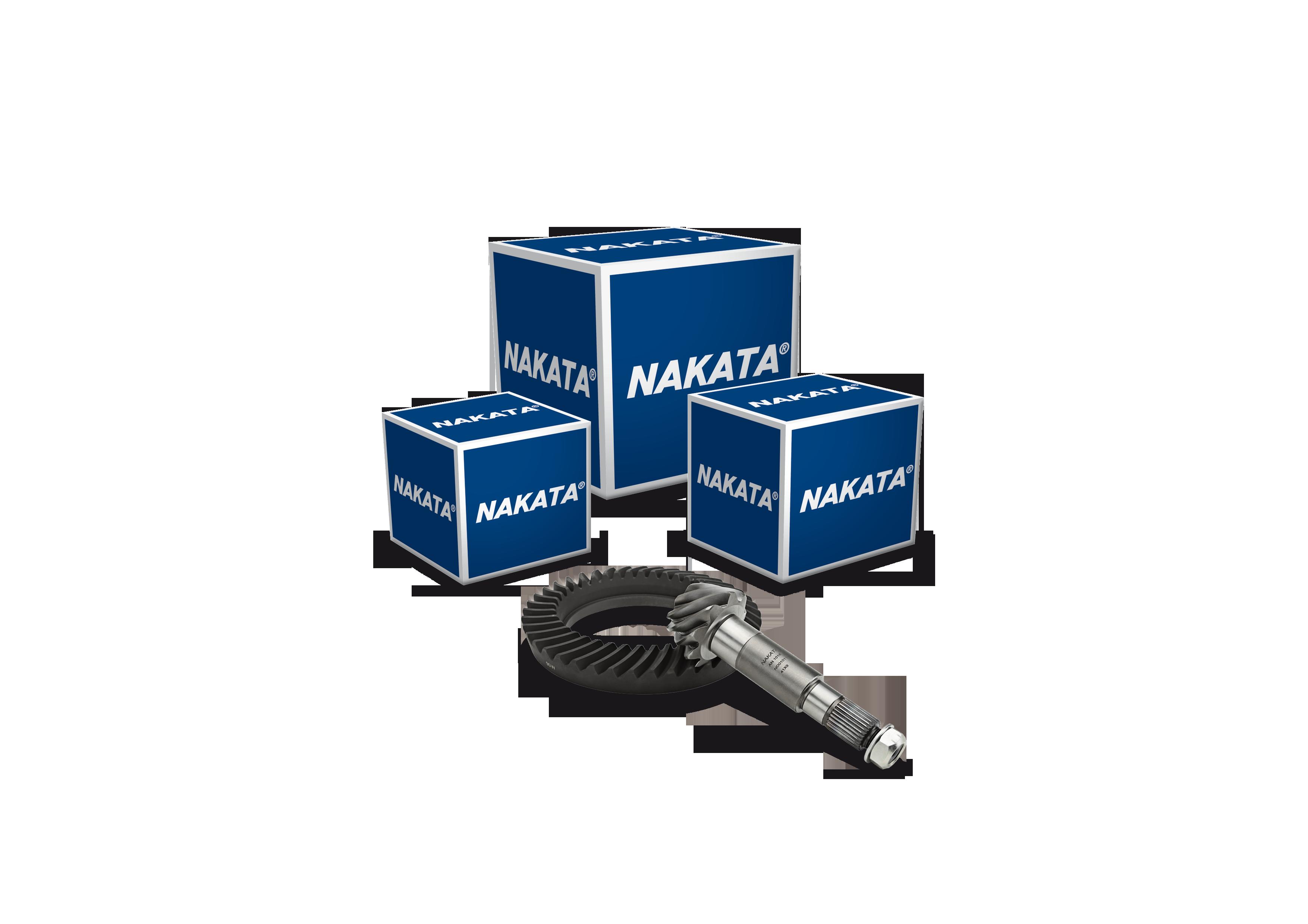 Nakata lança coroa e pinhão para veículos comerciais leves e caminhões das marcas Agrale, VW, Ford e GM