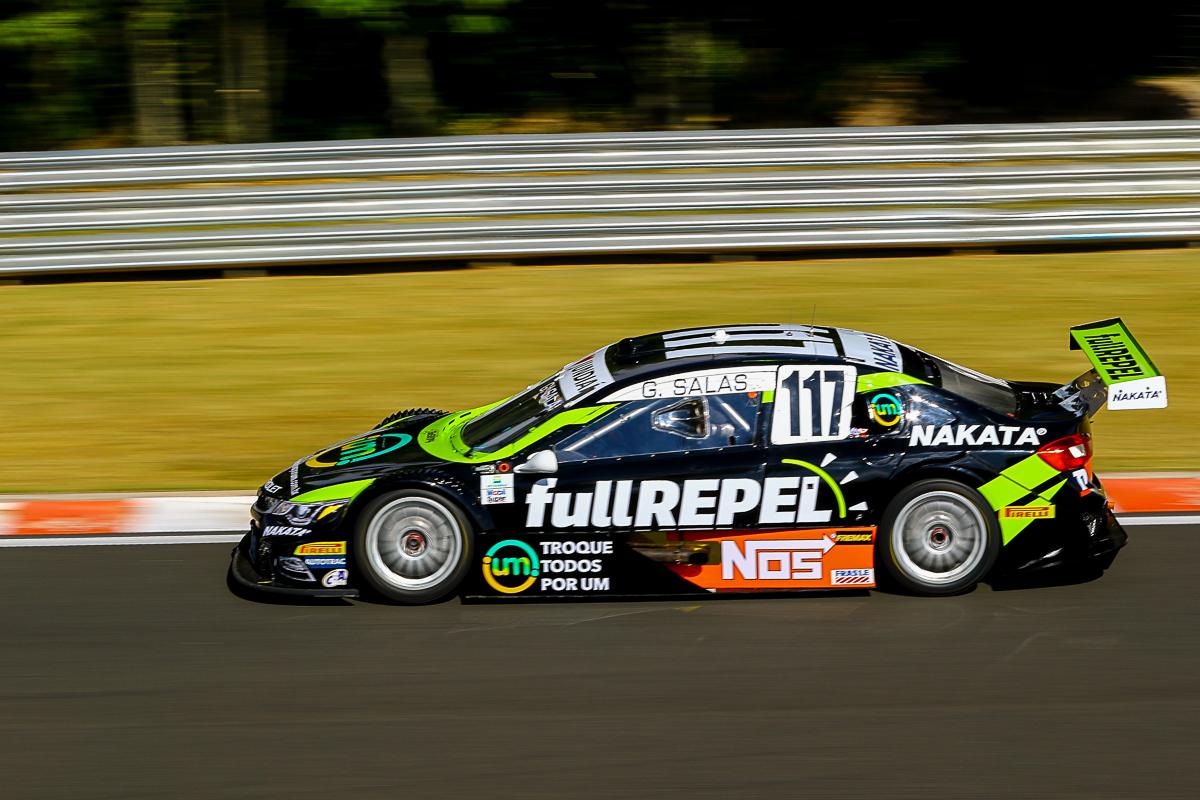 Guilherme Salas, patrocinado pela Nakata, pontua na Stock Car em Buenos Aires