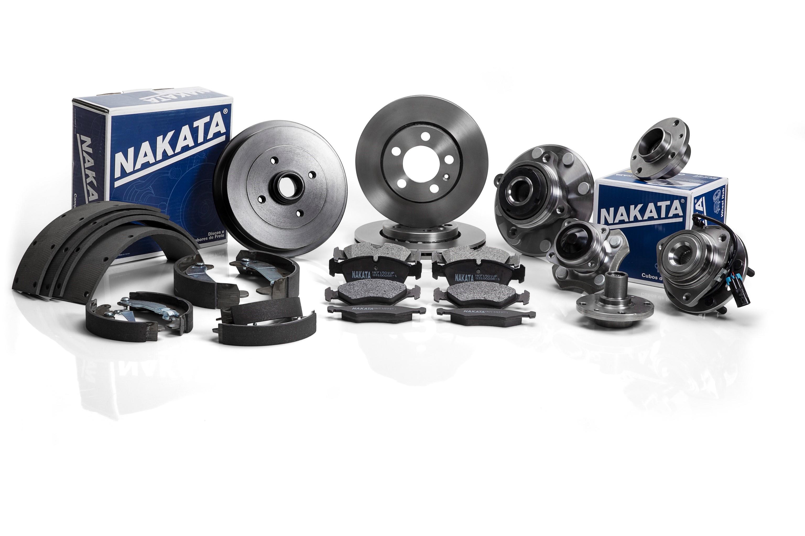 Nakata apresenta pastilhas de freio para veículos da Volkswagen, Audi, Hyundai, Kia, Ssangyong, Nissan e Toyota