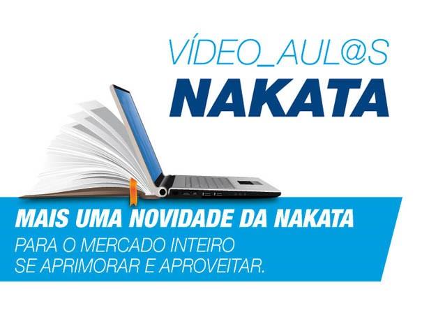 Vídeoaulas - Mais uma novidade da Nakata!
