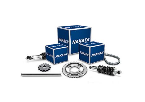 Nakata lança kits de coroa, pinhão e corrente para motocicletas de diversas marcas