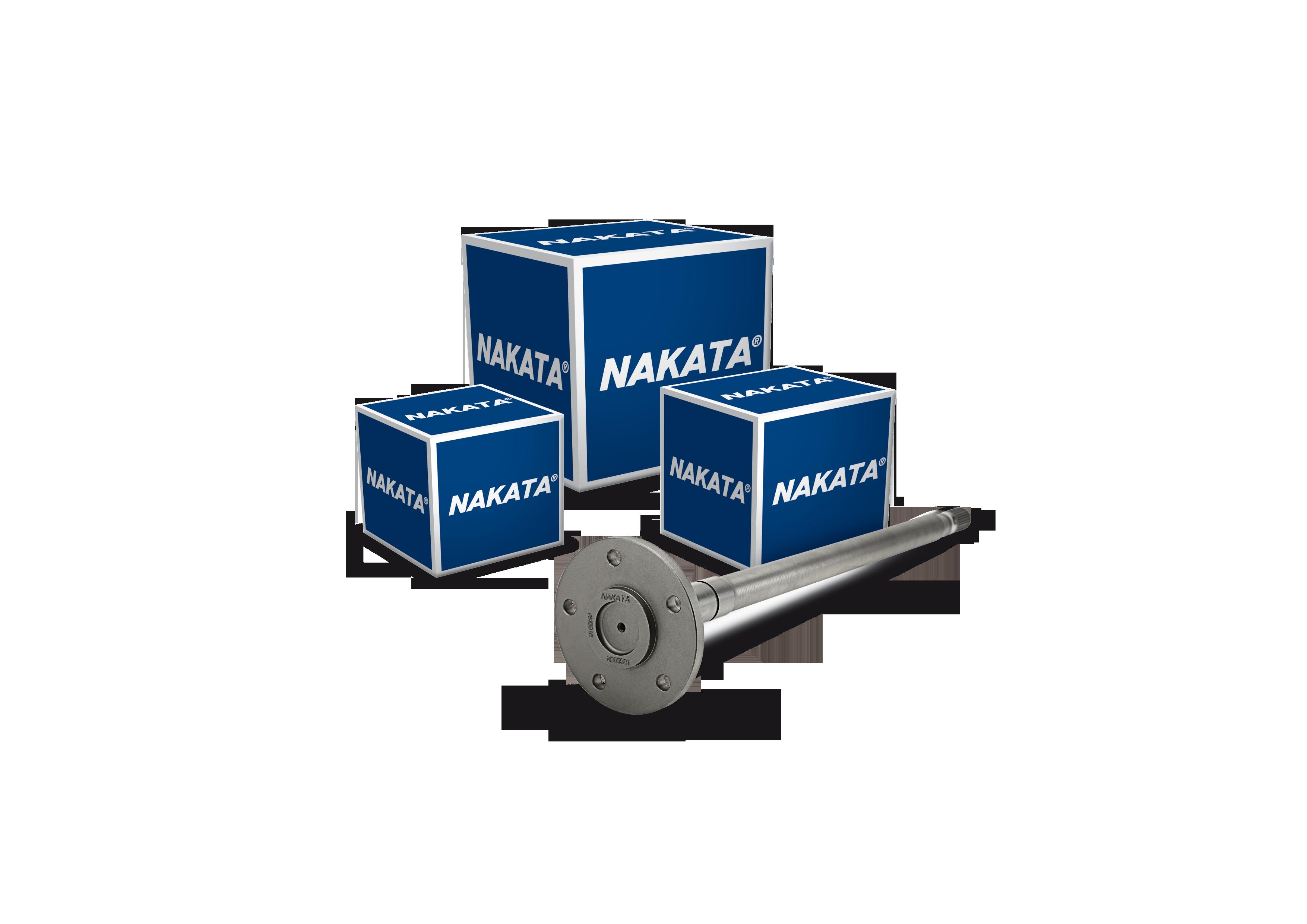 Nakata lança semieixos do diferencial para comerciais leves